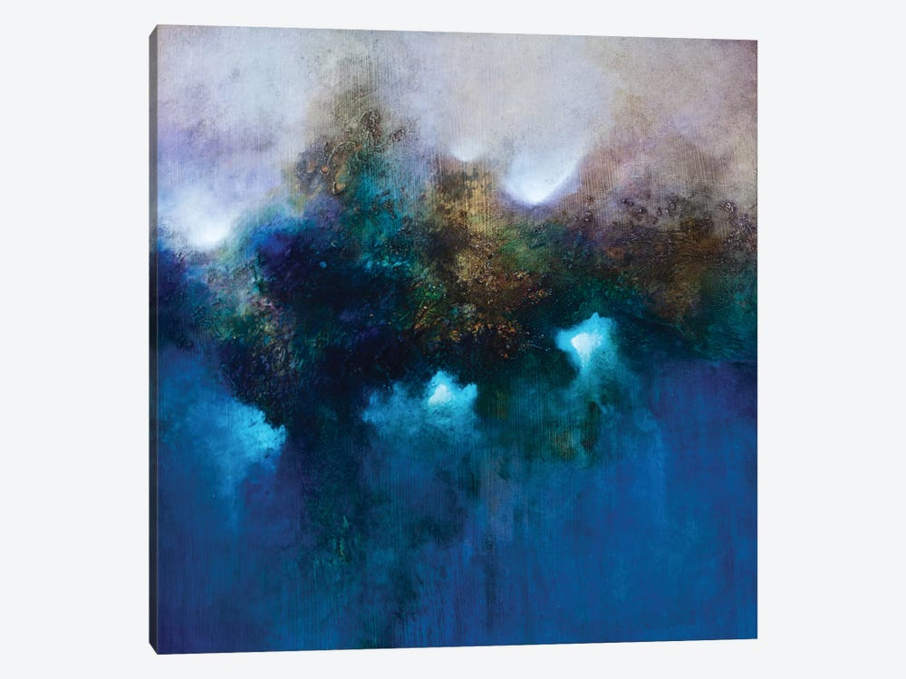 Blue Waters by CH Studios 1-piece Canvas Artwork