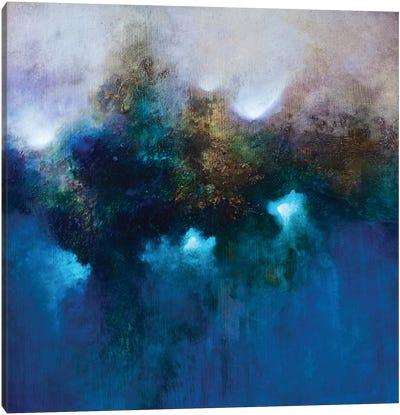 Blue Waters Canvas Art Print