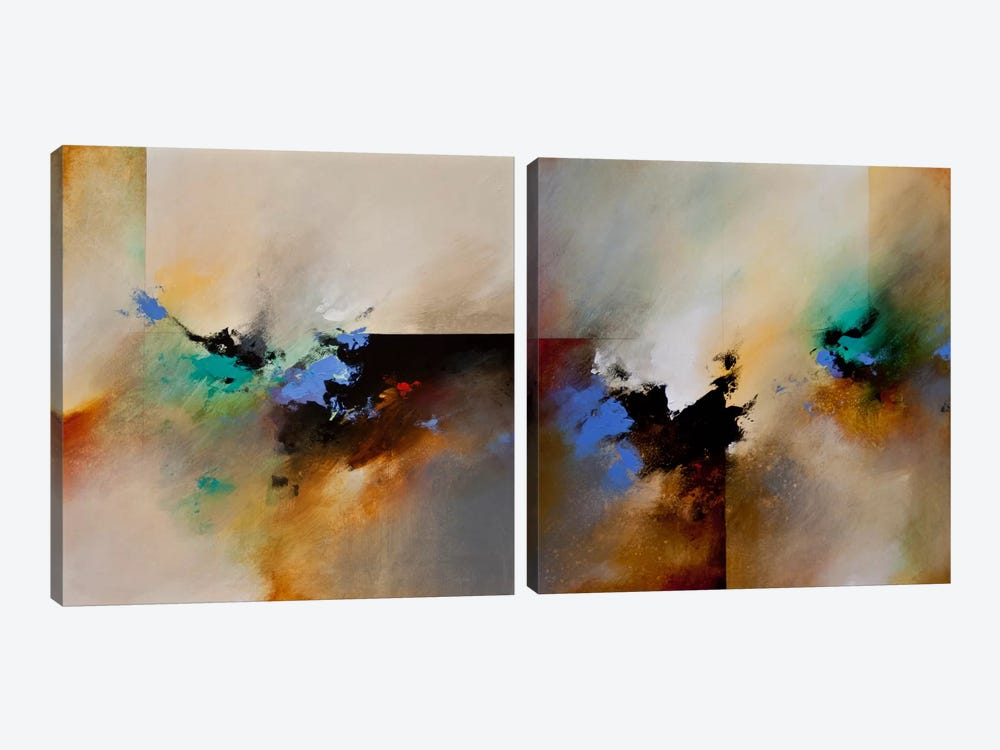 Clouds Connected Diptych by CH Studios 2-piece Canvas Art