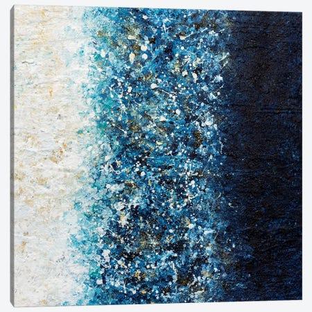 Sapphire Blaze Canvas Print #CHU14} by Nikki Chauhan Canvas Print