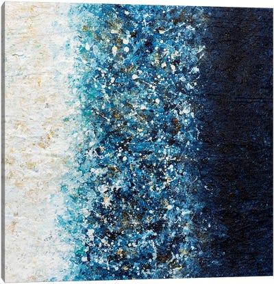 Sapphire Blaze Canvas Art Print
