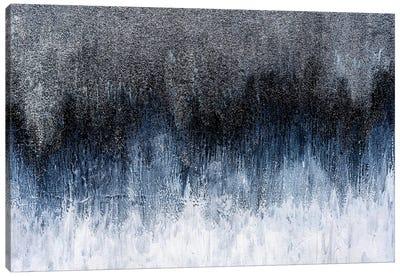 Silver Spark Canvas Art Print