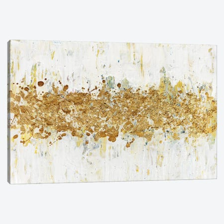 Speckles of Gold Canvas Print #CHU18} by Nikki Chauhan Canvas Wall Art
