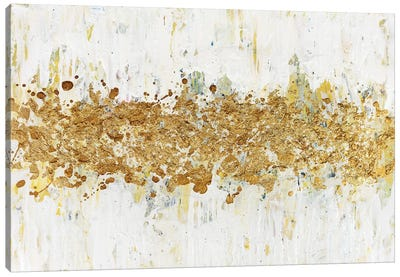 Speckles of Gold Canvas Art Print
