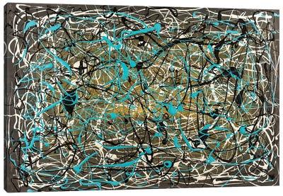 Tangled Canvas Art Print
