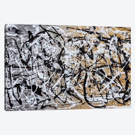 The Chaos II Canvas Print #CHU23} by Nikki Chauhan Art Print