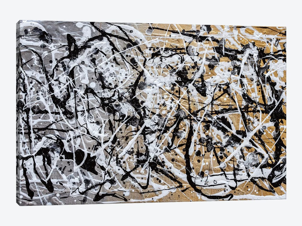 The Chaos II by Nikki Chauhan 1-piece Canvas Wall Art