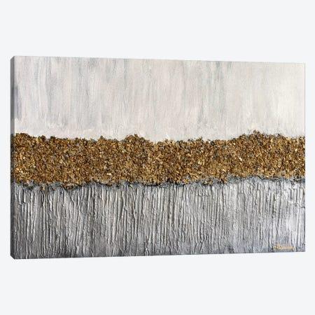 Golden Formation Canvas Print #CHU30} by Nikki Chauhan Canvas Artwork