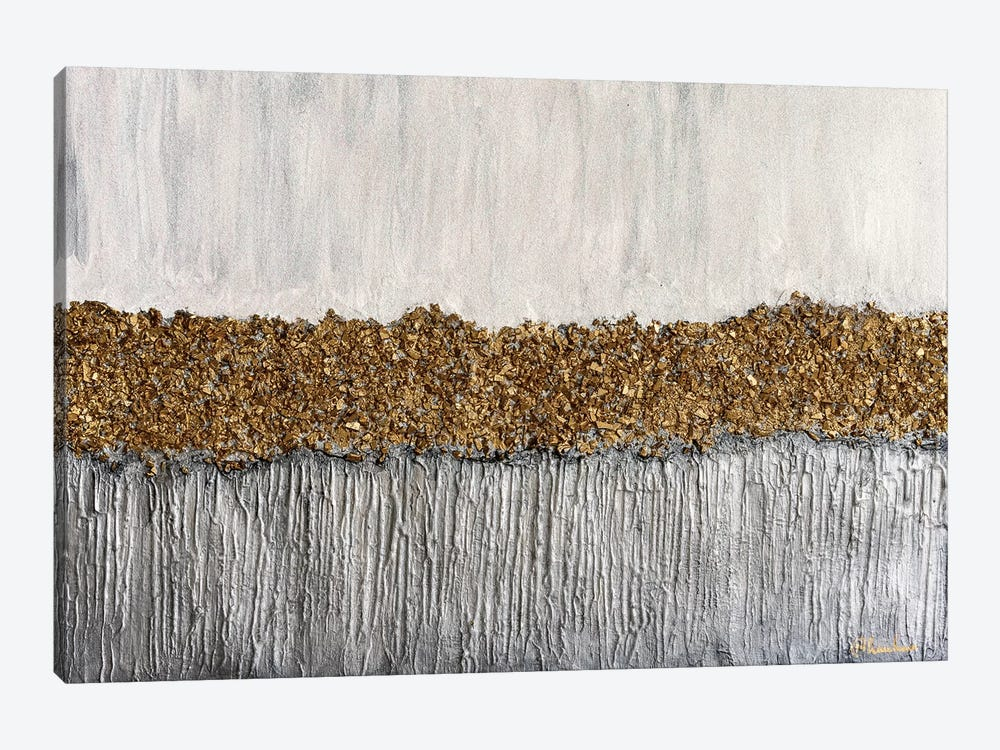 Golden Formation by Nikki Chauhan 1-piece Canvas Artwork