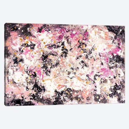 Pink Mist Canvas Print #CHU34} by Nikki Chauhan Art Print