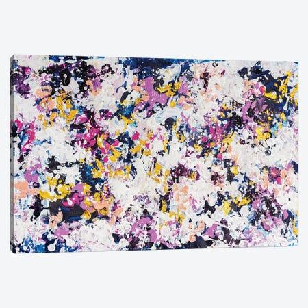 Secret Garden Canvas Print #CHU36} by Nikki Chauhan Art Print