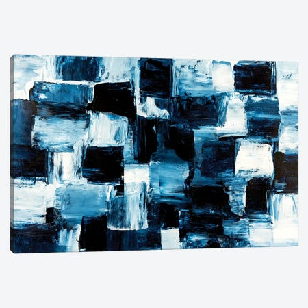 Block Matrix Canvas Print #CHU39} by Nikki Chauhan Canvas Artwork