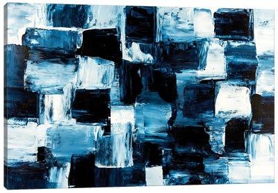 Block Matrix Canvas Art Print