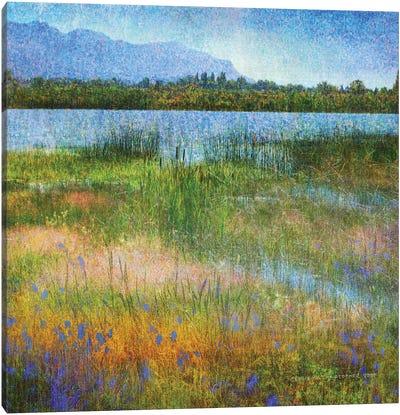 Lake Near Mesa Verde Canvas Art Print