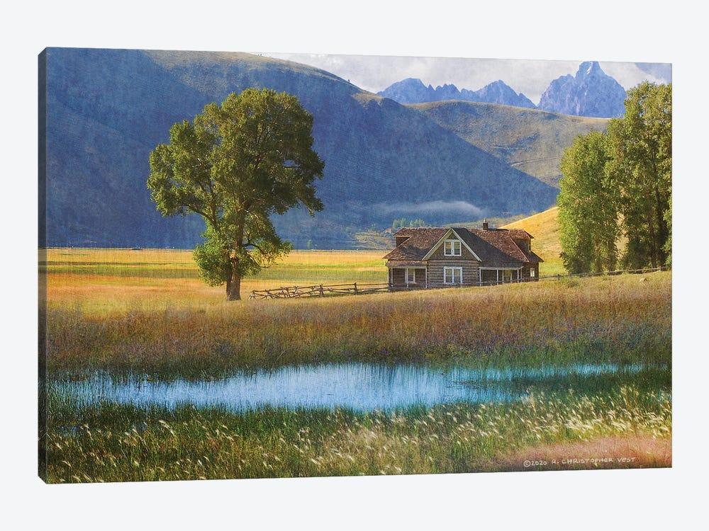 Miller House Grand Tetons by Christopher Vest 1-piece Canvas Artwork