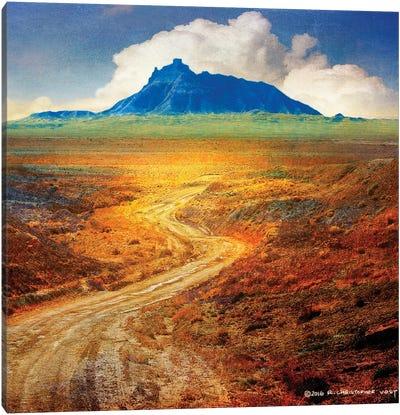Golden Road II Canvas Art Print