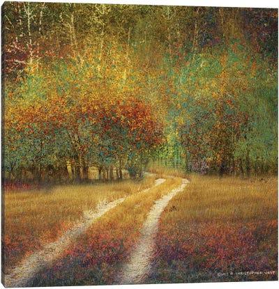 Bright Cottonwoods Canvas Art Print