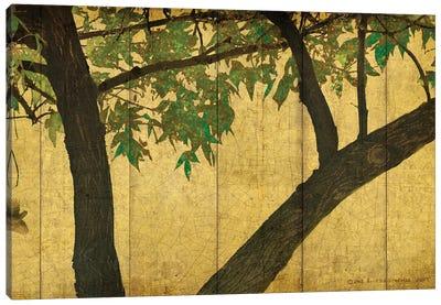 Goldleaf Branches Canvas Art Print