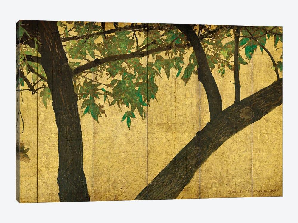 Goldleaf Branches by Christopher Vest 1-piece Canvas Art