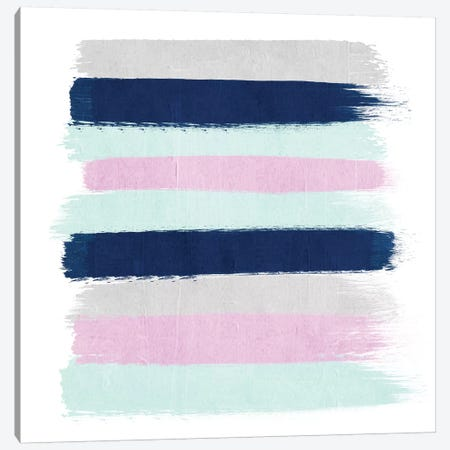 Berti Stripes Canvas Print #CHW10} by Charlotte Winter Canvas Artwork