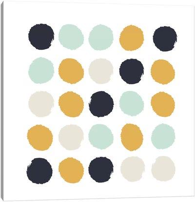Tinsley Dots Canvas Art Print
