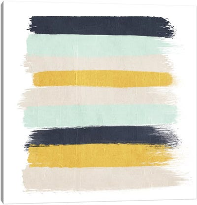Tinsley Stripes Canvas Art Print