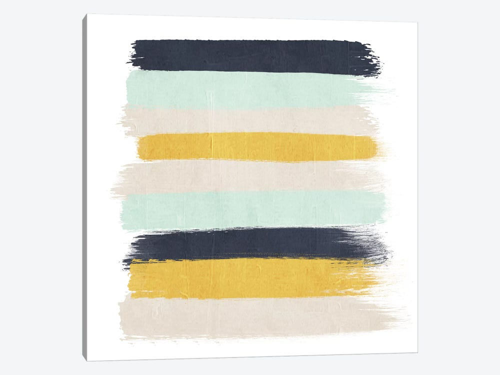 Tinsley Stripes by Charlotte Winter 1-piece Canvas Artwork