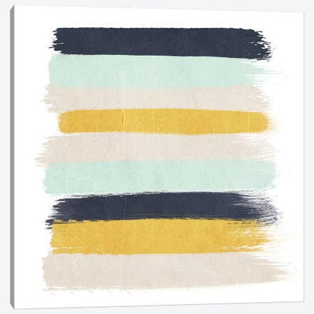 Tinsley Stripes Canvas Print #CHW111} by Charlotte Winter Canvas Artwork