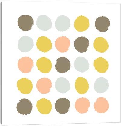 Upton Dots Canvas Art Print
