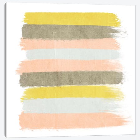 Upton Stripes Canvas Print #CHW114} by Charlotte Winter Art Print