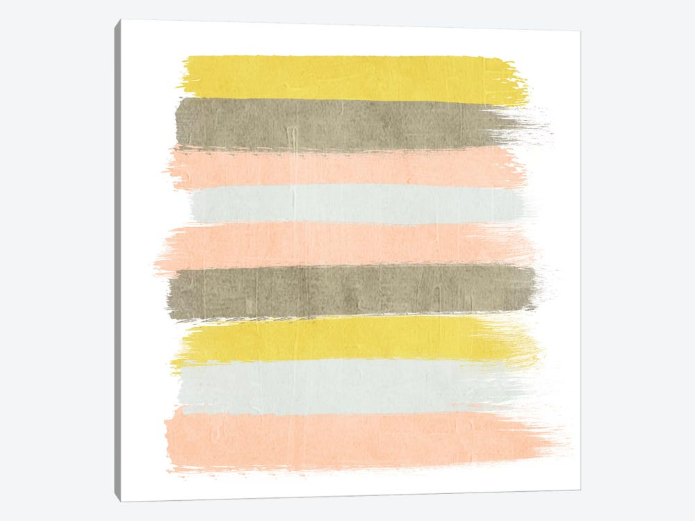 Upton Stripes by Charlotte Winter 1-piece Canvas Art Print
