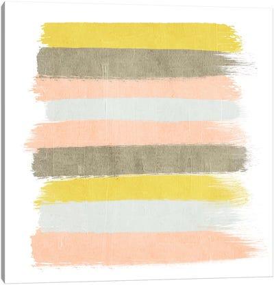 Upton Stripes Canvas Art Print