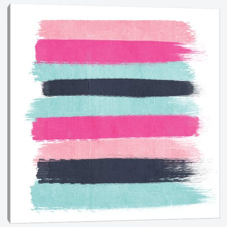 Vivi Stripes Canvas Print #CHW117} by Charlotte Winter Canvas Art Print