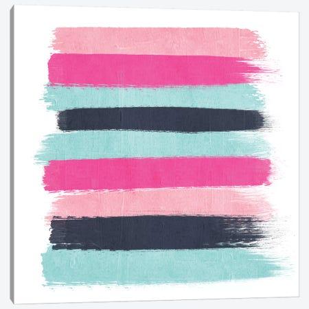 Vivi Stripes Canvas Print #CHW117} by Charlotte Winter Canvas Art Print