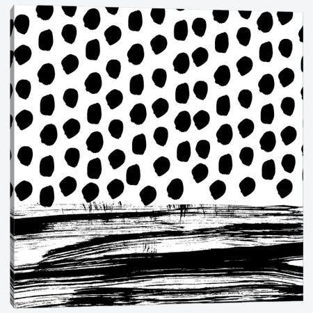 Zoe B&W Canvas Print #CHW119} by Charlotte Winter Canvas Artwork