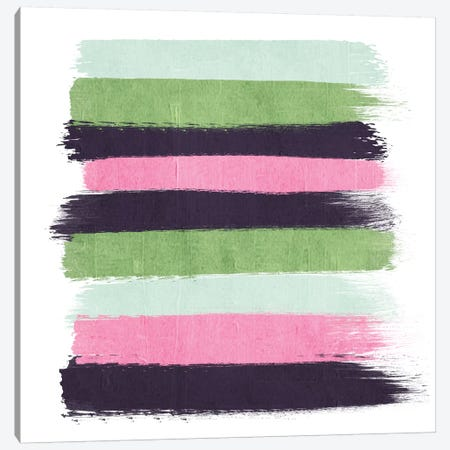 Cass Stripes Canvas Print #CHW17} by Charlotte Winter Canvas Art Print