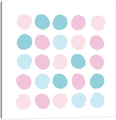 Danni Dots Canvas Art Print