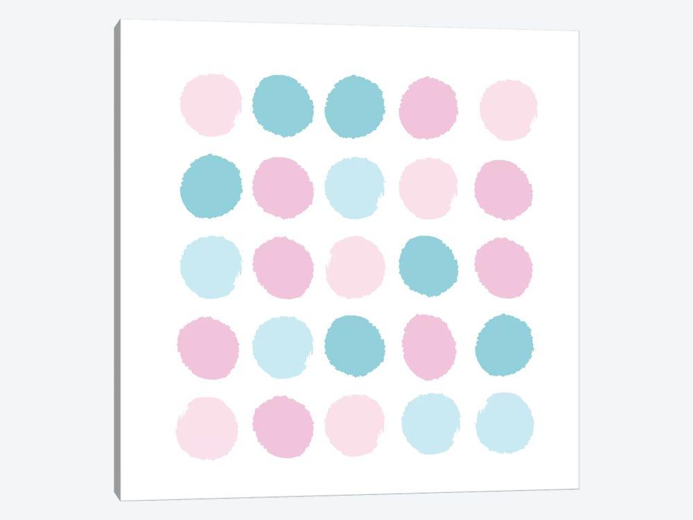 Danni Dots by Charlotte Winter 1-piece Canvas Artwork