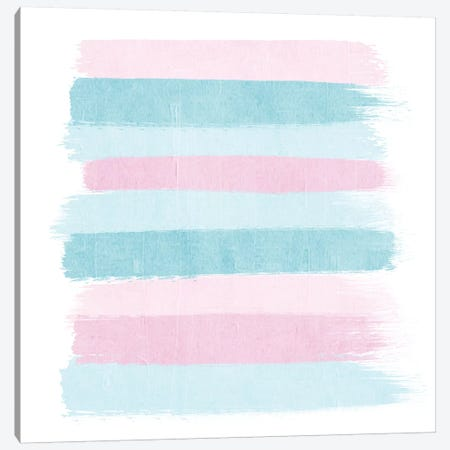 Danni Stripes Canvas Print #CHW25} by Charlotte Winter Canvas Wall Art