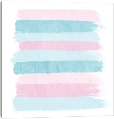 Danni Stripes Canvas Art Print