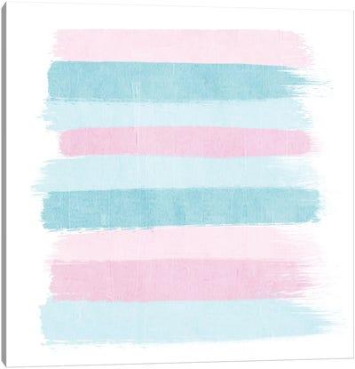 Danni Stripes Canvas Art Print