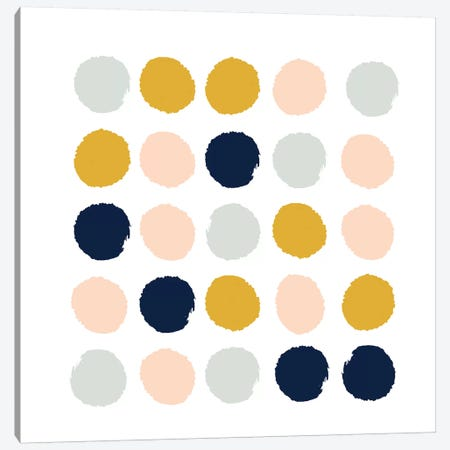Esther Dots Canvas Print #CHW32} by Charlotte Winter Canvas Artwork