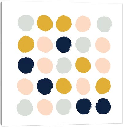 Esther Dots Canvas Art Print