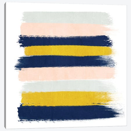 Esther Stripes Canvas Print #CHW33} by Charlotte Winter Canvas Wall Art