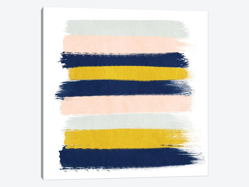Esther Stripes by Charlotte Winter 1-piece Canvas Art