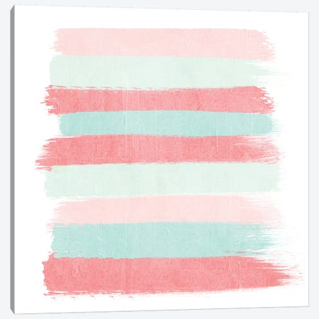 Florence Stripes Canvas Print #CHW37} by Charlotte Winter Canvas Print