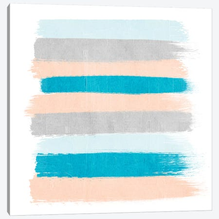 Freya Stripes Canvas Print #CHW40} by Charlotte Winter Canvas Print