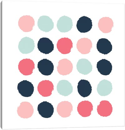 Isla Dots Canvas Art Print