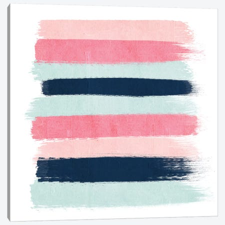 Isla Stripes Canvas Print #CHW45} by Charlotte Winter Canvas Wall Art