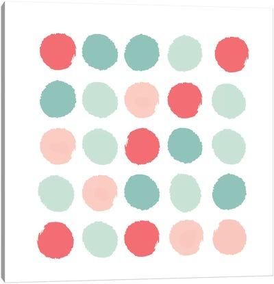 Joro Dots Canvas Art Print